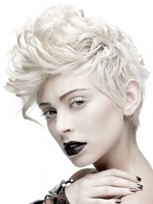 Punk Short Curly Haircuts for Girls