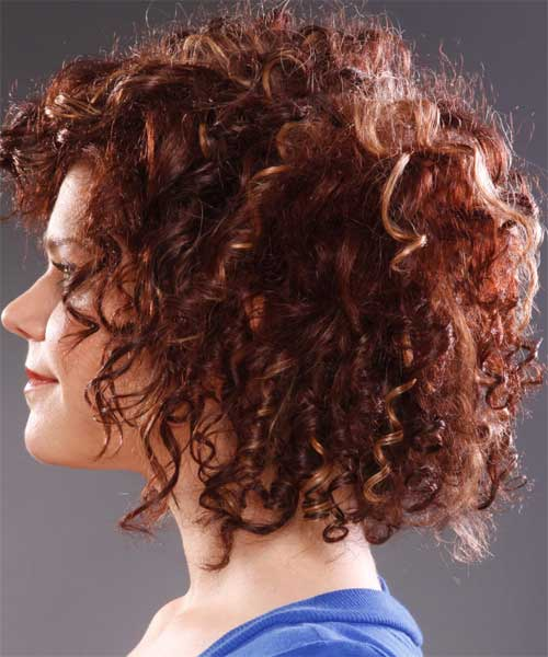 Red Short Thick Curly Hair