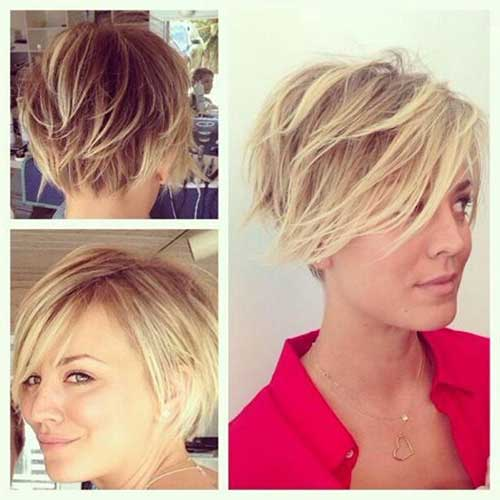 Gy Long Pixie Bob Look Cut