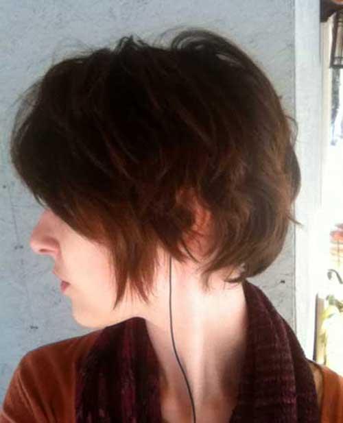 Shaggy Longer Pixie Haircut