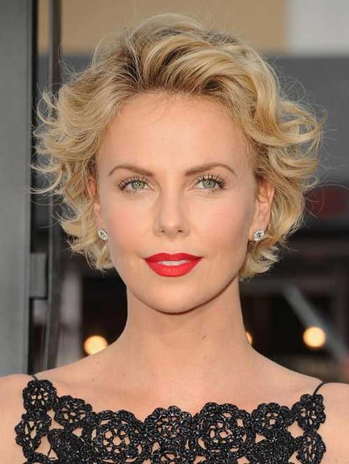 Peachy 10 Short Wavy Hairstyles For Round Faces Short Hairstyles 2016 Short Hairstyles Gunalazisus