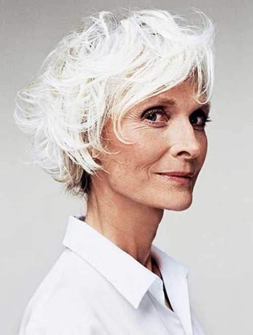 Short Bob Haircuts for Women Over 70