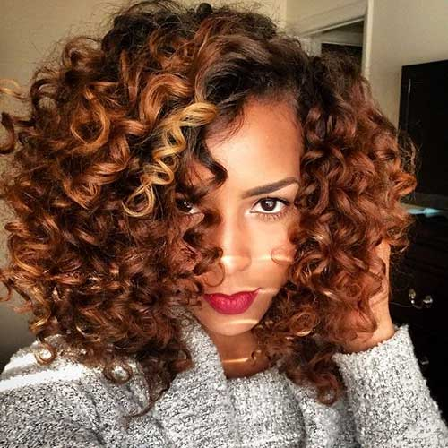 Wondrous 13 Curly Short Weave Hairstyles Short Hairstyles 2016 2017 Hairstyles For Women Draintrainus