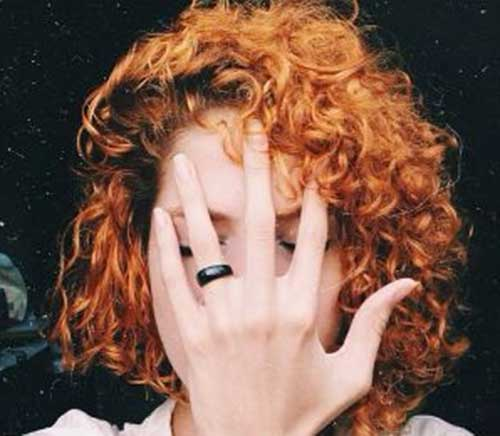 Cool Short Curly Red Hair