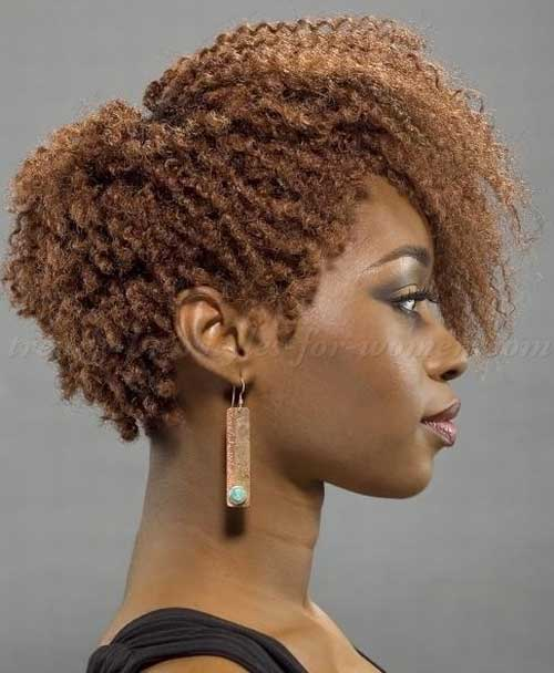 Short Curly Tapered Hair Weave Look