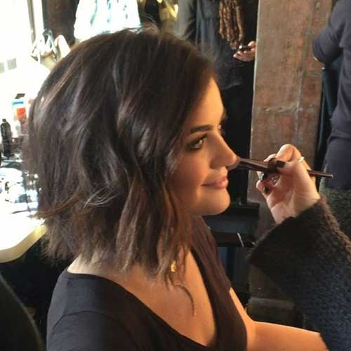 Short Female Wavy Hair Cuts