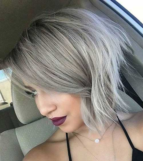 Short Grey Hair Pics Short Hairstyles 2018 2019 Most Popular