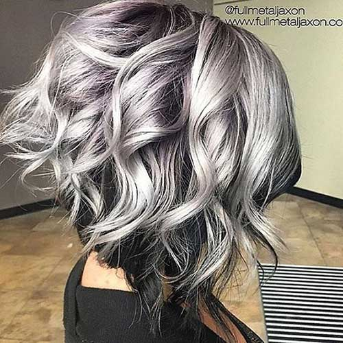 Short Grey Hair Pics  Short Hairstyles 2016  2017  Most Popular Short Hair