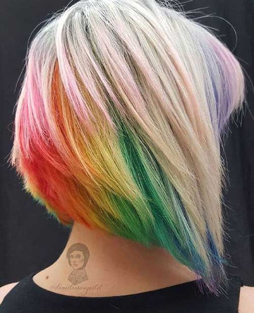 Short Hair Color Ideas