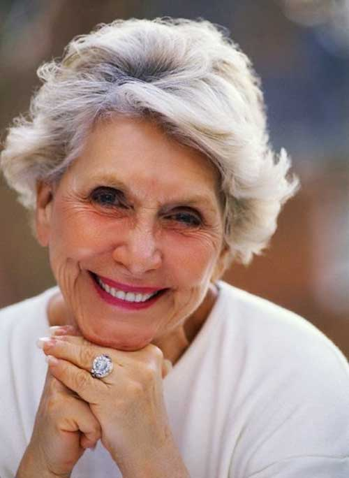 Short Hairstyles Ideas for Women Over 70