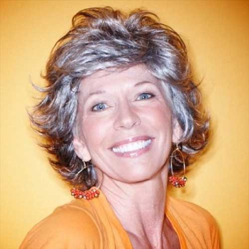 Short Hair Cuts for Women Over 70
