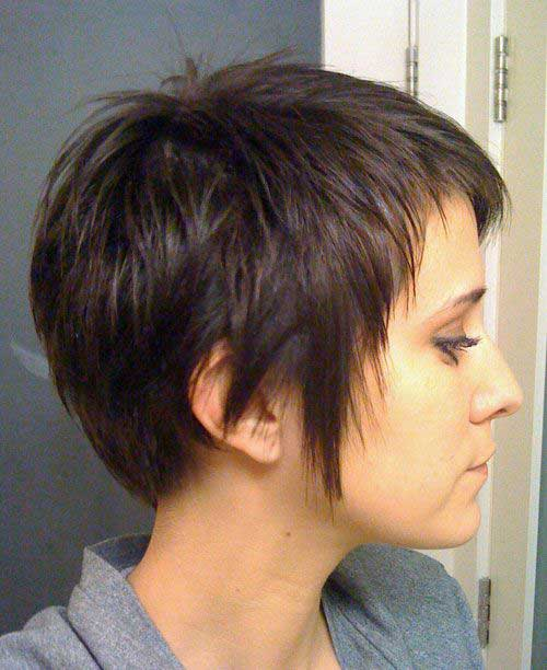 15 Short Haircuts For Thick Straight Hair Short