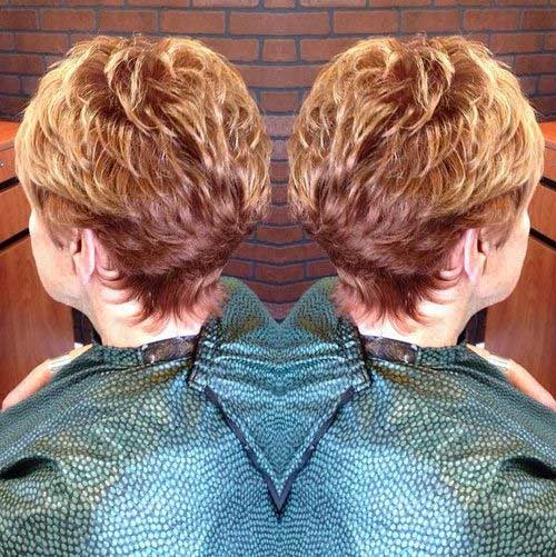 Short Haircuts Back View for Ladies Over 70