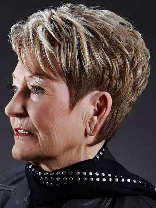 Short Pixie Haircuts for Over 70