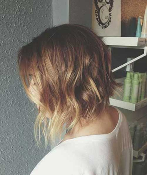 Short Haircuts for Thin Wavy Hair