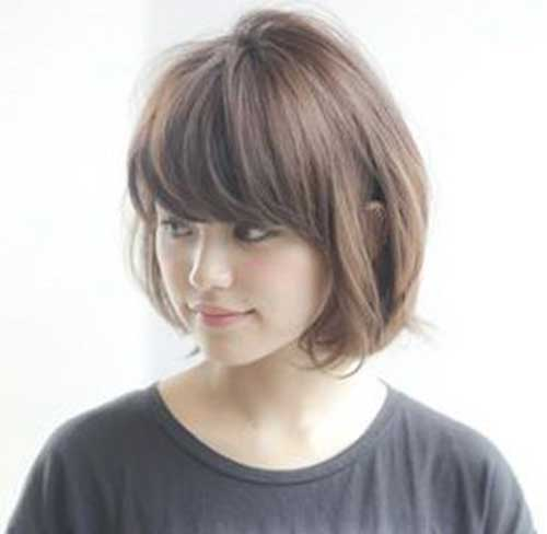 Short Haircuts for Women with Thin Line Cut Hair