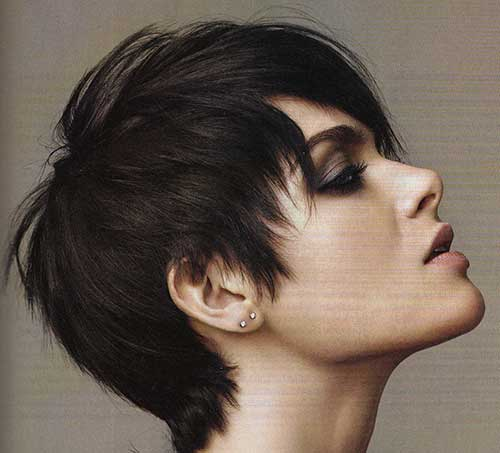 Short Hairstyles for Straight Thick Hair