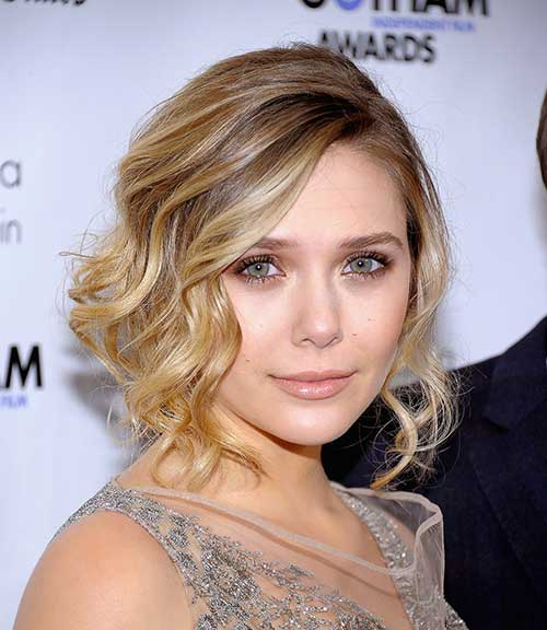 Short Bob Hairstyles for Wavy Hair And Round Face