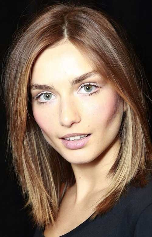 Short Light Brown Hair Color Trend for Women