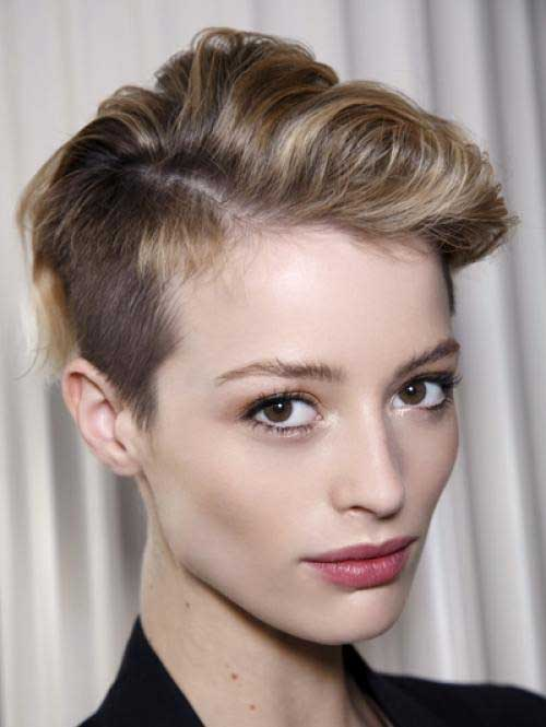 Short Pixie Cut Hair 2014 Trends