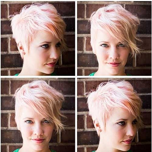 Short Punk Blonde Haircuts