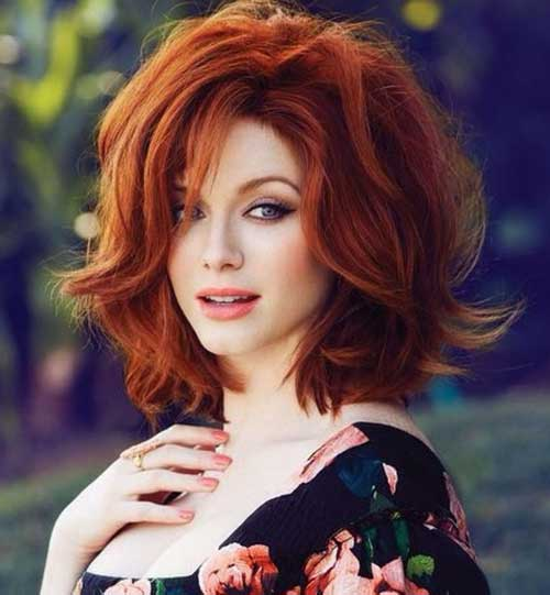 Tremendous 12 Cool Short Red Curly Hair Short Hairstyles 2016 2017 Most Hairstyles For Women Draintrainus
