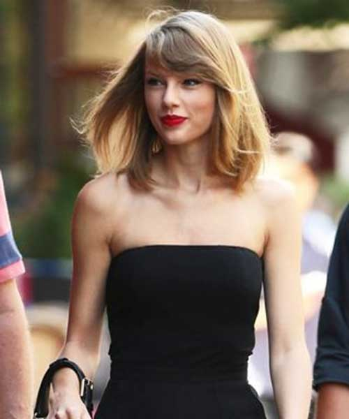 Short Shoulder Length Street Style Haircut Idea