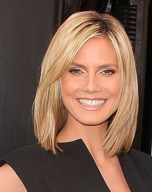 Short Shoulder Length Straight Thin Bob Cut
