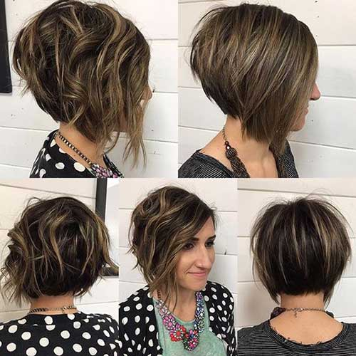 Astounding Best Short Stacked Bob Short Hairstyles 2016 2017 Most Hairstyle Inspiration Daily Dogsangcom