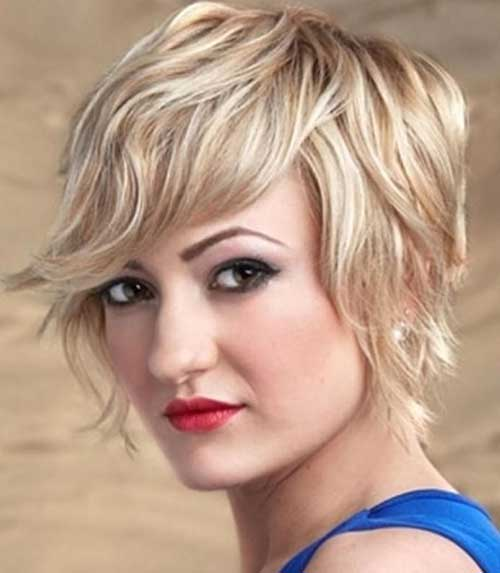 short curly haircuts for round faces 10 wavy hairstyles for faces 1617 | Short Wavy Haircuts for Round Faces