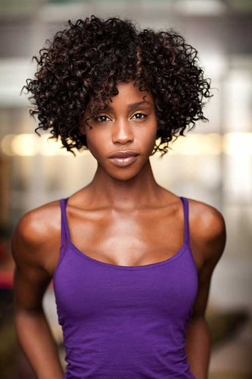 Wondrous 13 Curly Short Weave Hairstyles Short Hairstyles 2016 2017 Short Hairstyles For Black Women Fulllsitofus