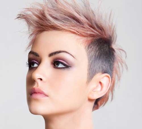 Spiky Punk Short Haircuts