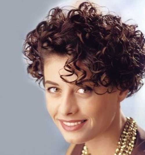 Astonishing 15 Short Haircuts For Curly Frizzy Hair Short Hairstyles 2016 Short Hairstyles Gunalazisus