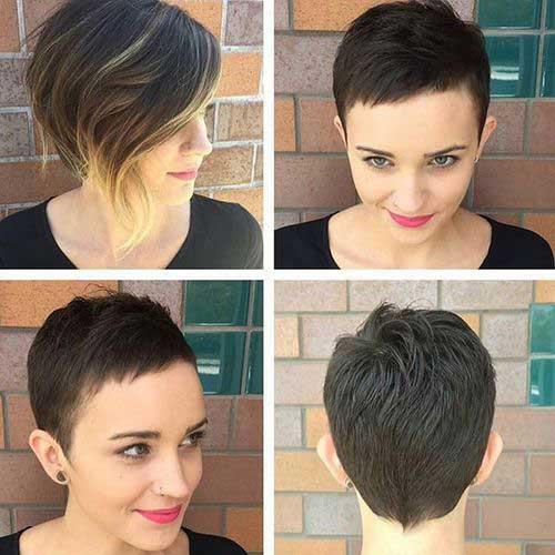 Very Short Haircut