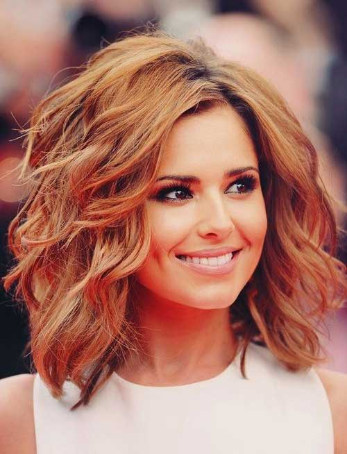Wavy Hair Short Shoulder Length Haircuts