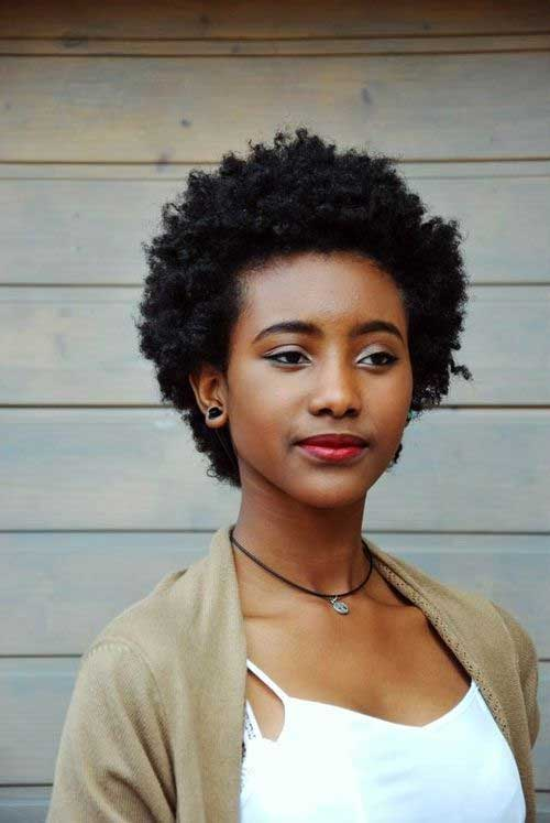 10 Natural Makeup Ideas For Everyday: 15 Pretty Hairstyles For Short Natural Hair