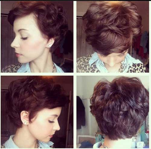 Pixie Cuts for Curly Hair-11