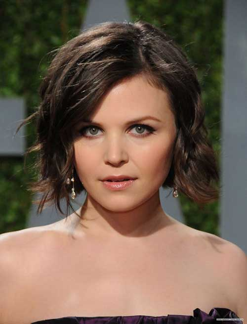 Short Hair Ideas for Round Face-11
