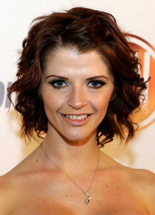Short Haircuts for Thick Wavy Hair-12