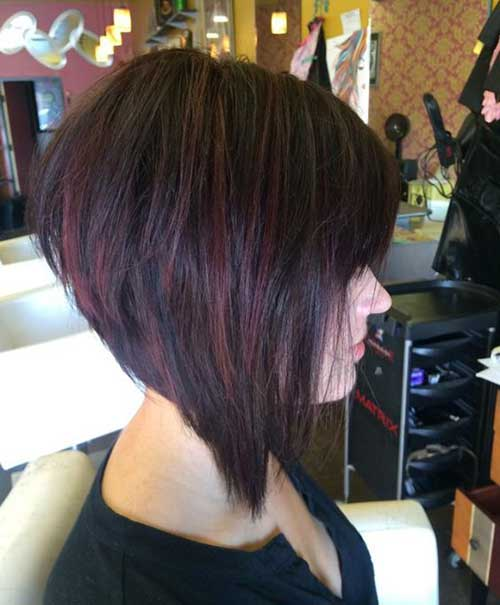 Great short bob hairstyle for coarse hair pictures
