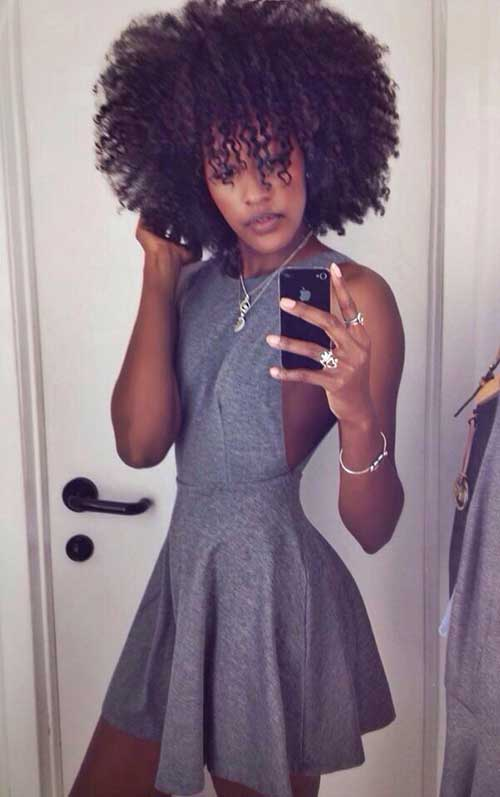 Hairstyles for Short Natural Hair-14