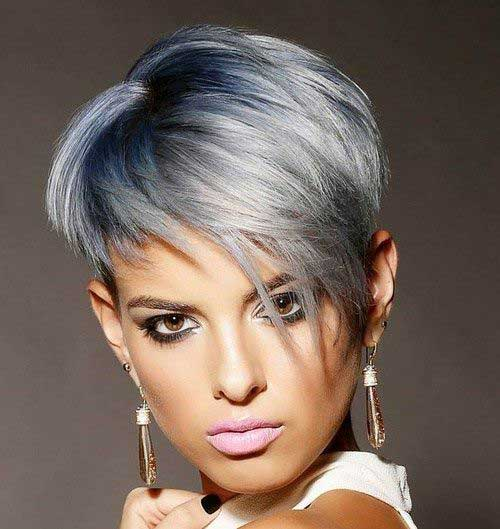 Really Trendy Asymmetrical Pixie Cut Short Hairstyles 2016 2017