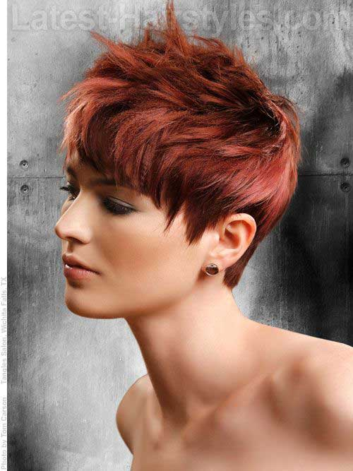 Short Cropped Haircuts-17
