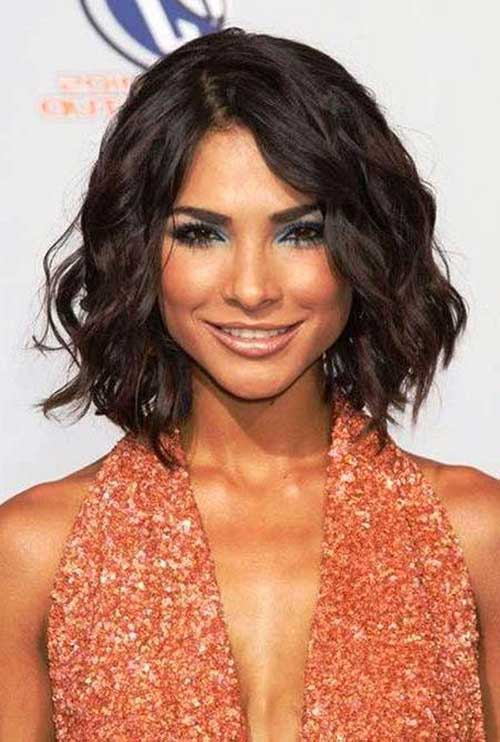 short styles for thick wavy hair 15 haircuts for thick wavy hair hairstyles 3104 | 6. Short Haircut for Thick Wavy Hair
