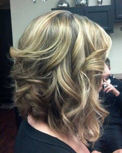 Short Haircuts for Thick Wavy Hair-7