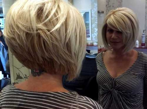 Short Hair Ideas for Round Face-8