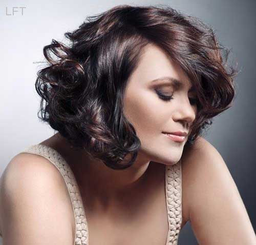 15 Short Haircuts for Thick Wavy Hair | Short Hairstyles 2017 - 2018 | Most Popular Short ...