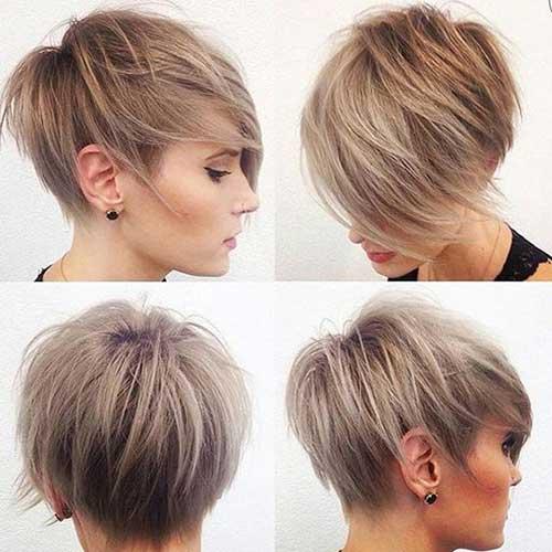 Superb Really Trendy Asymmetrical Pixie Cut Short Hairstyles 2016 Short Hairstyles For Black Women Fulllsitofus