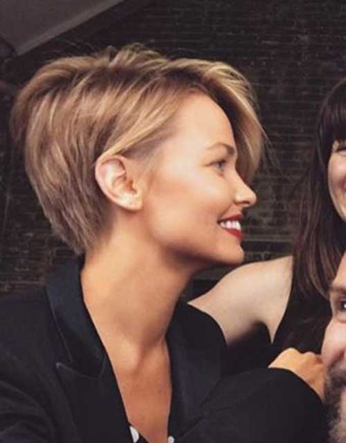Asymmetrical Pixie Cuts