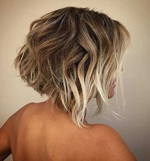 Highlights for Short Hair